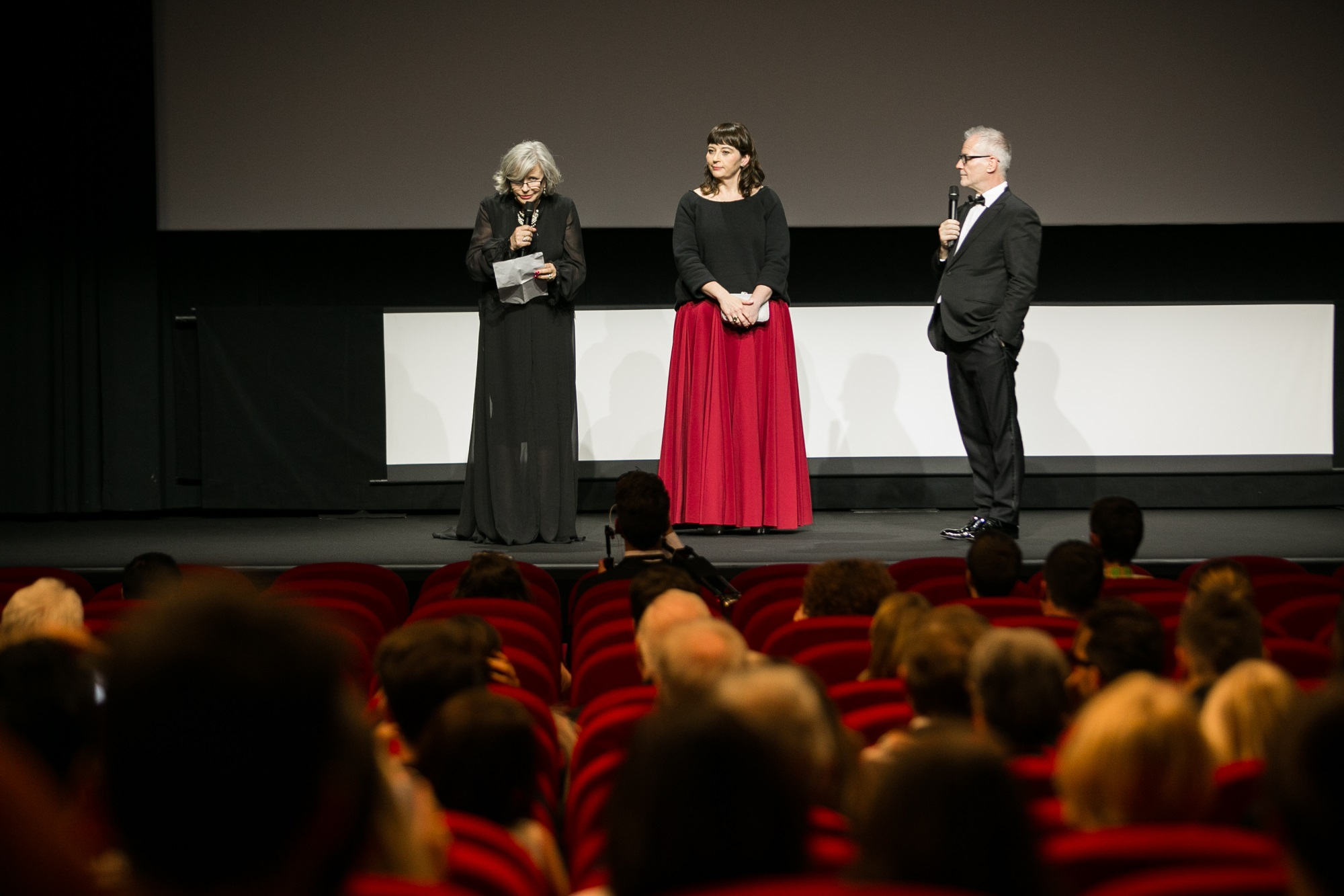 Man of Iron screening at 70. Cannes IFF