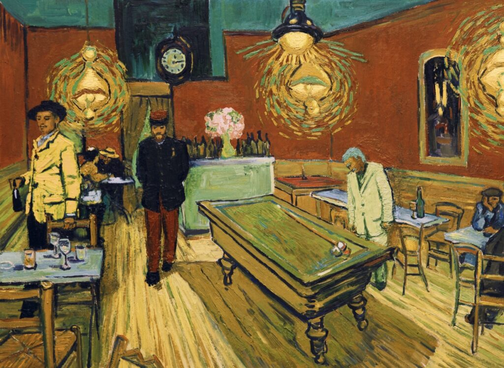 """LOVING VINCENT"" IS A THEATRICAL HIT IN ITALY"