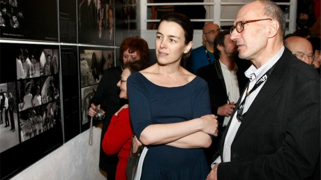 Olivia Williams and Maciej Karpiński. Photo by AKPA